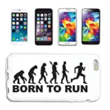 Reifen-Markt Funda de teléfono móvil compatible con iPhone 5C, para correr, correr, maratón, triatlón, carcasa rígida