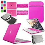 4 Accesorios para MacBook NEOP CHG rosa hot pink 15-inch MacBook Pro with Touch Bar