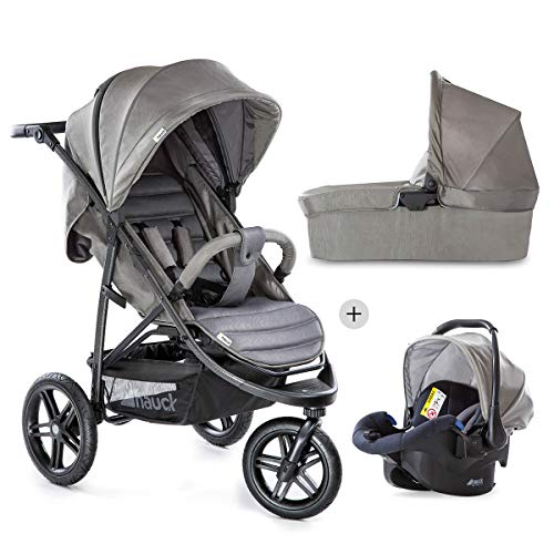 Hauck 149454 - Transportwagen mit Babyschalen, Unisex