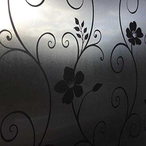 Melkglasfolie tegen inkijk beschermfolie raamfolie decoratieve folie folie 91 x 300 cm