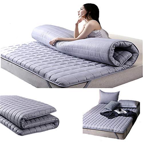 ZLBIN Latex Mattress , Double Single Floor Mattress Japanese,student Dormitory Folding Mattress,futon Floor Mattress,soft And Breathable,120 * 200cm