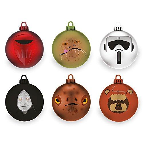 Palla di Natale, motivo: Star Wars Il ritorno dello Jedi, confezione dal 2 pezzi