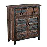 Powell Furniture Calypso Console 2-Drawers/2-Doors