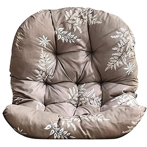 ZWPY Hanging Chair Cushion, Cradle Papasan Swing Chair Cushion With Backrest Seat Cushions,non-slip Adult Wicker Chair Basket Cushion