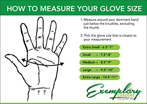 Exemplary Gardens Thorn-Proof Gardening Gloves