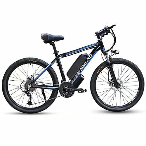 29 Zoll Elektrofahrrad Mountainbike Ebike für Erwachsene, Elektrisches Fahrrad mit Abnehmbarer 48V 13Ah Lithium-Batterie und 500W/1000W Hinterradmotor