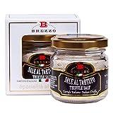 Schwarzes Trüffel-Salz in einer eleganten Box Ideal für ein Geschenk   80g
