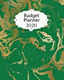 Budget Planner 2020: Marble Expense Tracker | Budgeting Organizer | Daily, Weekly, Monthly and Annual Budget Calendars  | #8 | Green Gold