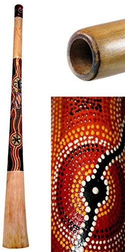 Didgeridoo Teak Wood Painted (51 inch)