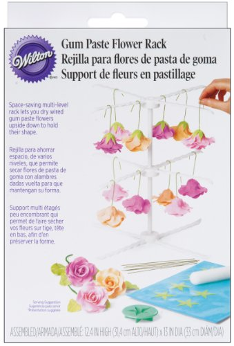 Wilton 409-2543 - Soporte secador para flores de pasta de goma para...