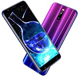 Smartphone Pas Cher 4G, J6(2019) 6.0 Pouces HD 3Go RAM + 16Go ROM/128Go Expansion Android 8.1 4800mAh 8MP+5MP Dual SIM Face ID GPS...