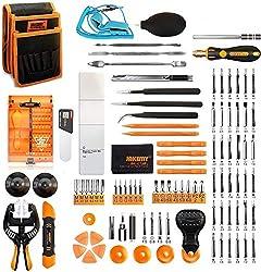 powerful Jakemy screwdriver set, 99 in 1, 50 precision magnetic screwdrivers, repair tool set …