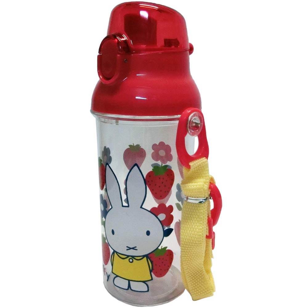 食洗機対応 ミッフィー ワンタッチボトル 水筒 フラワー S19MWBR
