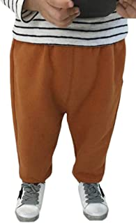 Lutratocro Little Toddler Girls Solid Color Casual Pull On Waist Harem Pants