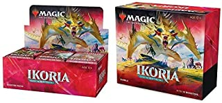 Magic: The Gathering Ikoria: Lair of Behemoths Bundle and Booster Box | 46 Booster Pack (690 Cards) | Factory Sealed