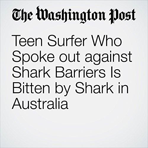 Teen Surfer Who Spoke out against Shark Barriers Is Bitten by Shark in Australia cover art