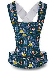 Beco Gemini bärsele – enkel 5-i-1 ryggsäck stil sele för att hålla bebisar, spädbarn och barn från 3,2-15,9 kg certifierad ergonomisk