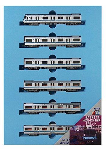 マイクロエース Nゲージ 横浜市営地下鉄3000形・3000S編成 6両セット A9764 鉄道模型 電車
