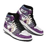 Naruto Ino Yamanaka Shoes Symbol Costume Boots Naruto Anime Sneakers -Zapatillas de Baloncesto para Hombre, Antideslizantes, Transpirables, con Cordones, Zapatillas Deportivas al Aire Libre a Juego