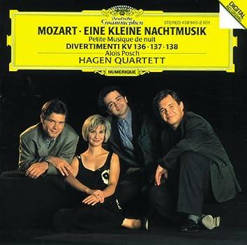 モーツァルト:セレナーデ第13番《アイネ・クライネ・ナハトムジーク》