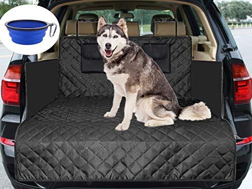 Cadosoigh Funda para Maletero de Coche para Perros, 185 x 105 x 36cm Protector para Maletero de Coche Impermeable Antideslizante Cubierta Maletero Esterilla de Protección del Tronco