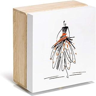BOZNY Estatua de la Escultura Decoraciones de Animales Parejas Blancas y Negras Cisne Escultura de Arte Artesan/ía de cer/ámica Modernas y Simples Decoraciones para el hogar