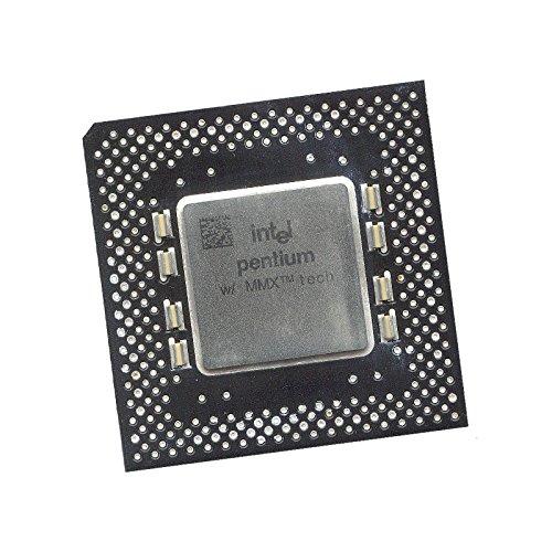 Intel Pentium MMX SL27J - Procesador CPU (procesador Pentium MMX, 200 MHz, FSB, 66 MHz, Socket 7 PPGA Mono Core