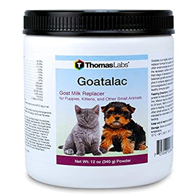 Thomas Laboratories Goat-A-Lac Nutrition Powder, 12-Ounce