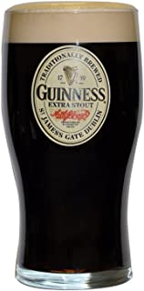 Guinness Oval Label Pint Glass
