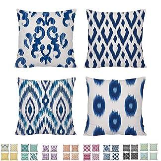 Komoco-Set-mit-6-Geometrischem-Digitaldruck-dekoratives-Kissen-457-x-457-cm