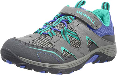 Merrell Kids' Unisex M-Trail Chaser Sneaker, Grey/Multi, 3.5 M US Big Kid