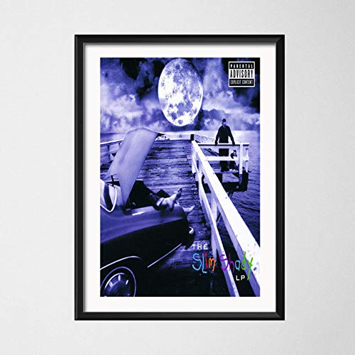 HD Print For Eminem The Slim Shady LP Art Music Poster Wall Decor Painting