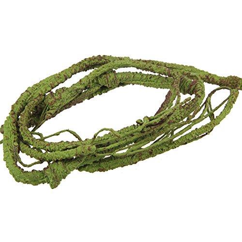 Emours - Rama flexible de decoración para terrario de lagarto, rana, serpientes y más reptiles, pequeño, 100 cm de largo