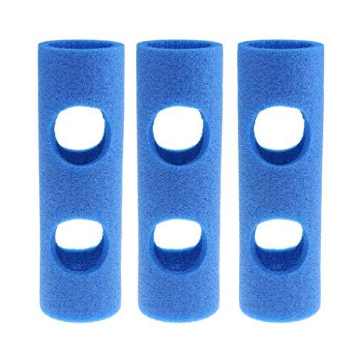 dailymall 3 Unids/Set Conector de Fideos de Piscina de Lujo con 2 Orificios Cruzados, Junta de Conexión para Silla de Juguete de Agua Montaje de Construcción