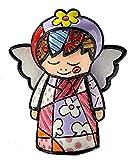 Romero Britto Giftcraft Mini Angel Figurine, Ceramic, Multicoloured, One Size