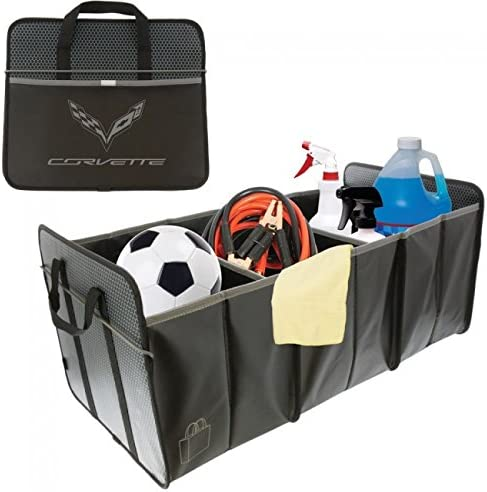 C7 Corvette Soldering Trunk Caddy Collapsible with Courier shipping free shipping Crossed Cargo Organizer