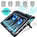 Laptop Cooler,Laptop Cooling Pad for 14-17 Inch Gaming Laptop, Double Blower Cooler...