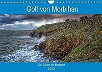 Golf von Morbihan, der Sueden der Bretagne (Wandkalender 2022 DIN A4 quer): Entdecken Sie das Département Morbihan, Landschaften zwischen Land und Meer (Monatskalender, 14 Seiten )