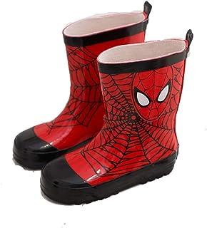 RKIDA Kids Cartoon Non-Slip Rain Boots Boys Rubber Rain Boots