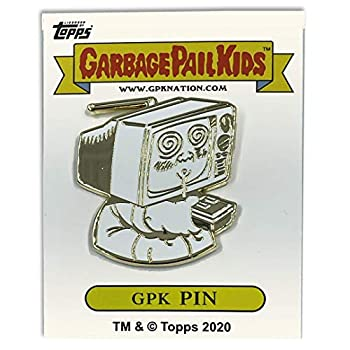 LEO Challenge Coins GPK-CC-005 TEE-VEE Stevie/Geeky Gary Topps Officially Licensed Brent Engstrom Artist Collaboration GPK Pin Garbage Pail Kids
