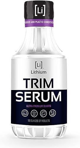 Lithium Auto Elixirs Trim Serum- Plastic Restorer- Restores Even The Most Damaged Plastic, Rubber and Vinyl, Last for...