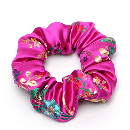 OULN1Y Bandeaux Streamers Hair Ring Fashion Ribbon Girl Hair Bands Scrunchies Ponytail Hair Bows Girl Holder Rope Hair Accessories,10