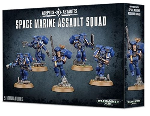 Games Workshop Warhammer 40K Space Marines Assault Squad