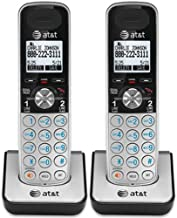 AT&T TL88002 Accessory Cordless Handset, Silver/Black, 2 Pack (Requires an AT&T TL88102 Expandable Phone System to Operate0 photo