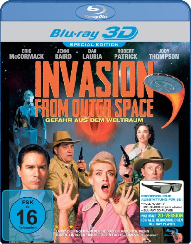Invasion From Outer Space (Alien Trespass) (Special Edition) [Blu-ray 3D]