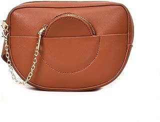 Women's Leisure Lightweight Waist Pack, Outdoor Fashion Multifunction Waist Bag Shoulder Bags Chest Bag Adjustable Belt Chain Comfort Durable Daily Travel Zip Waist Pack (Size:20 * 6 * 15CM)