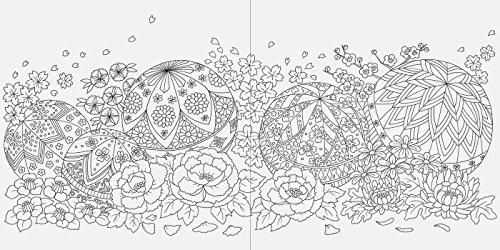 春夏秋冬和のぬり絵ブック
