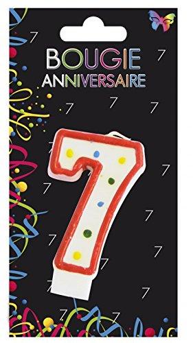Aptafetes - Bougie anniversaire 7