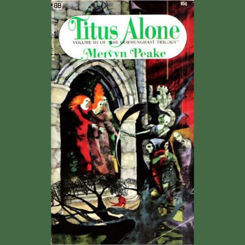 Titus Alone audiobook cover art