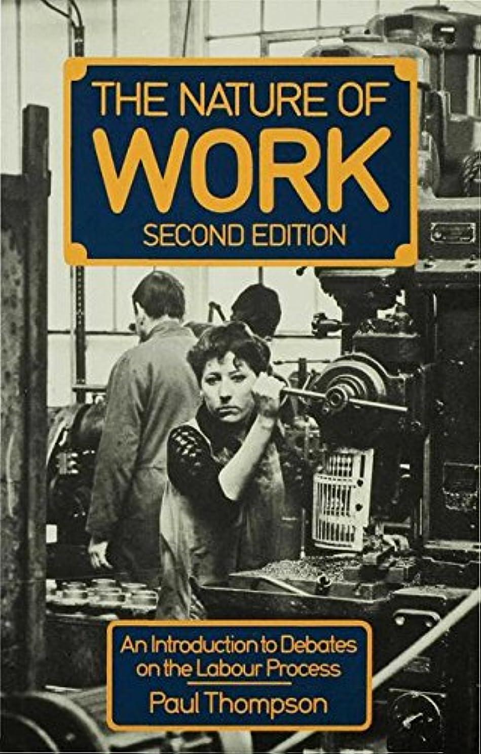ポーン雑多なヘッドレスThe Nature of Work: An introduction to debates on the labour process